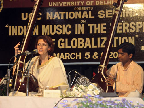 dhrupad at the Delhi University