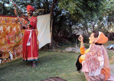 Bhopa ravanhatha player - Jodhpur