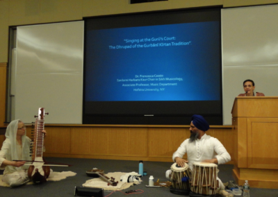 Lecture at Harvard University