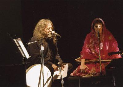With Persian musician Mohssen Kasirossafar